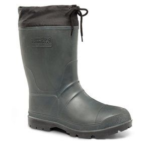 Kamik | Waterproof Rubber Boots Khaki